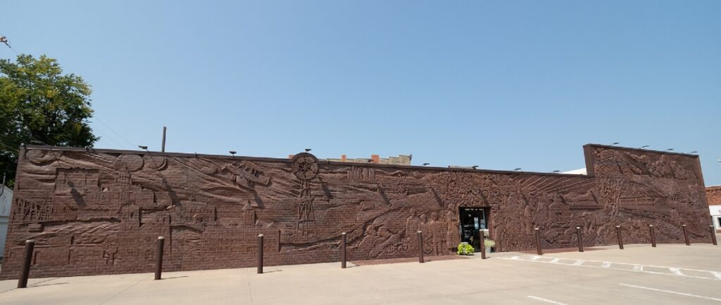 The Whole Wall Mural In Concordia, KS.