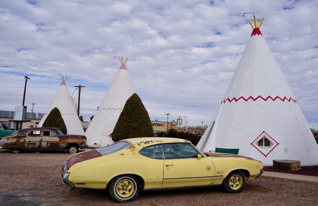 The WigWam Motel in Holbrook, Arizona.
