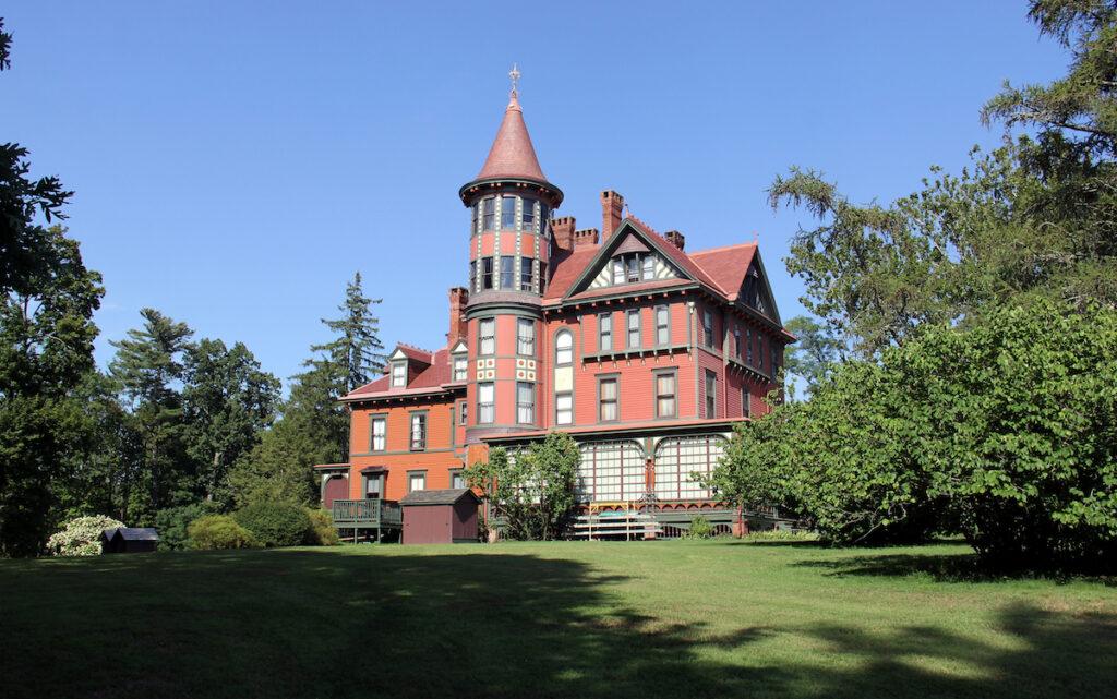 The Wilderstein mansion in Rinebeck, New York.