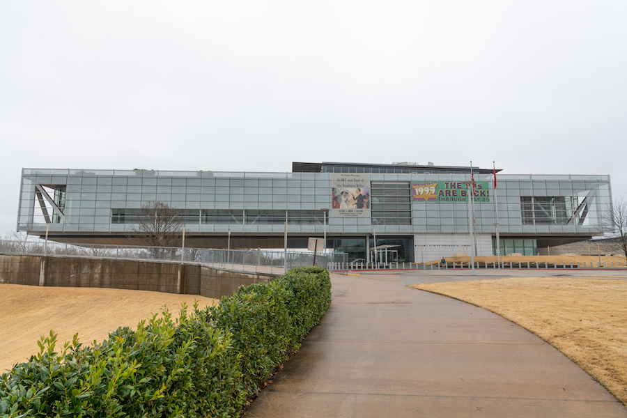 The William J. Clinton Presidential Library and Museum in Little Rock.