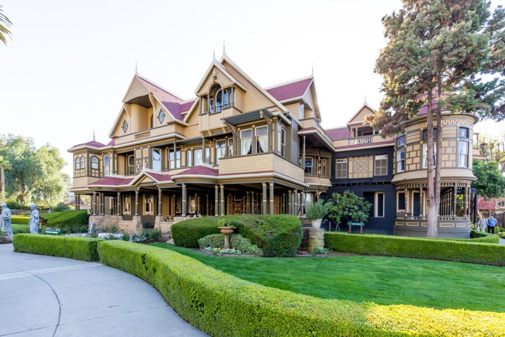 The Winchester House in California.