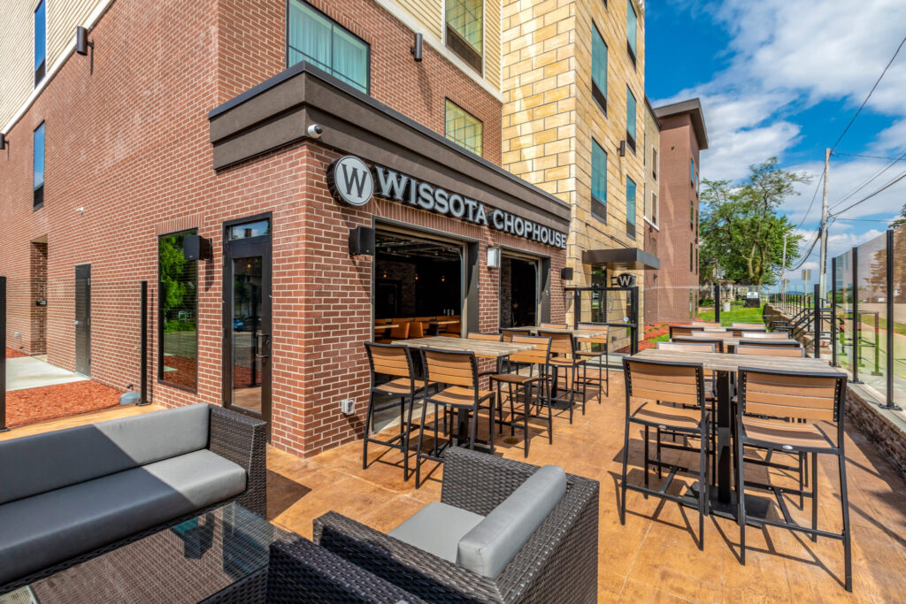 The Wissota Chophouse in Janesville.