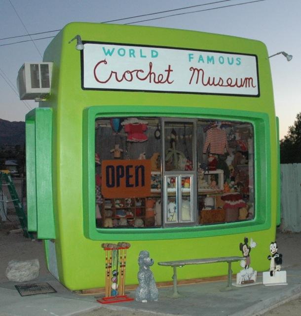 The World Famous Crochet Museum near Joshua Tree.