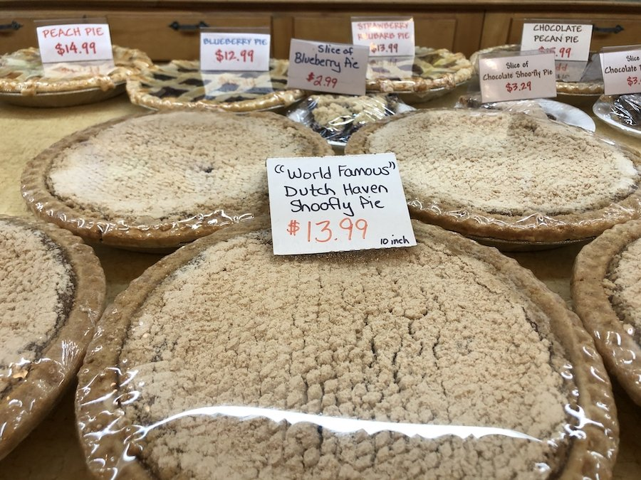 """The """"World Famous"""" Dutch Haven Shoofly Pie."""