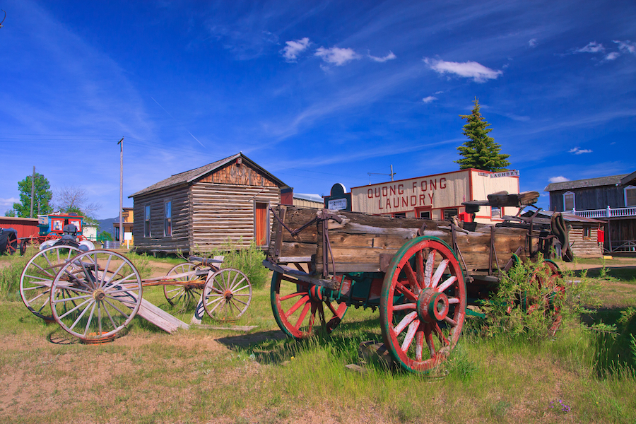 The World Museum of Mining in Butte, Montana.
