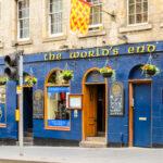The World's End pub in Edinburgh, Scotland.