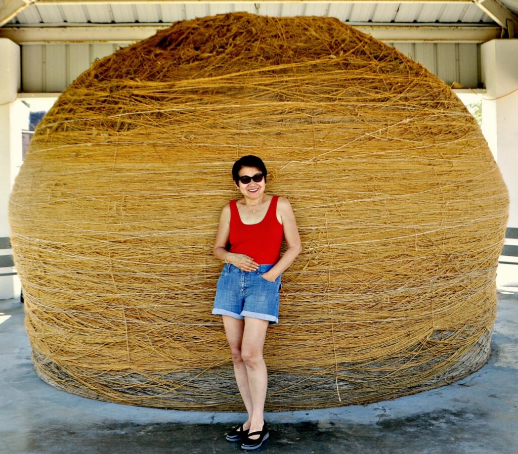 The World's Largest Ball of Twine in Cawker City, Kansas.