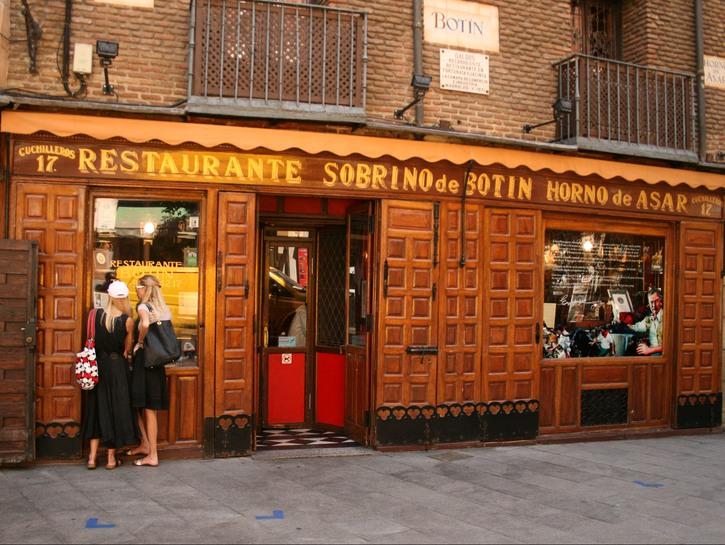 The world's oldest restaurant, Sobrino de Botín.