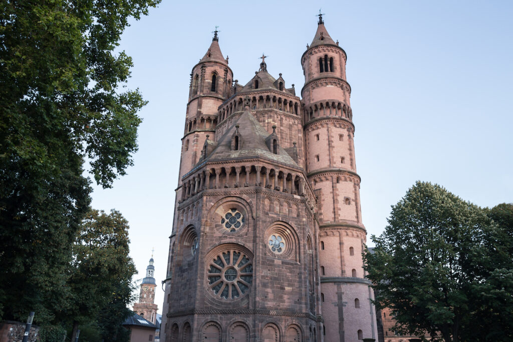 The Worms Cathedral in Germany.