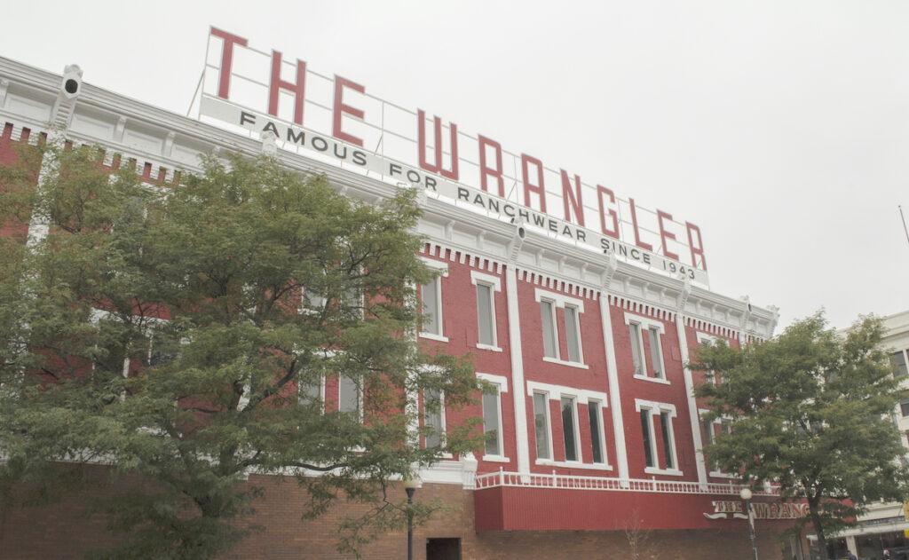 The Wrangler in Cheyenne, Wyoming.