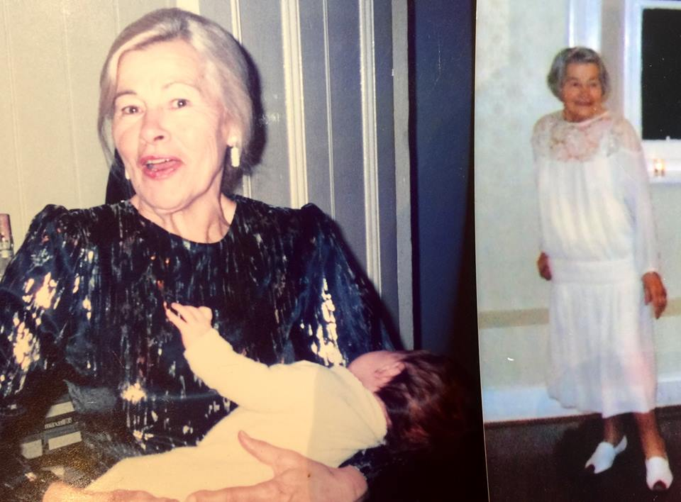 The writer's mother, May Myatt.