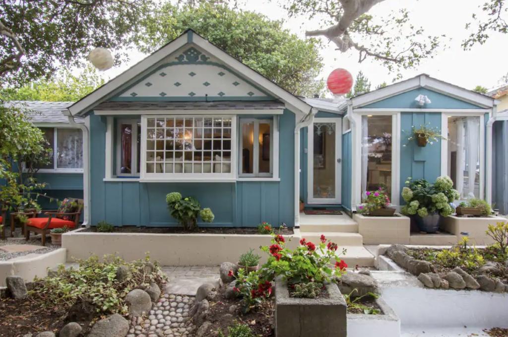 The Writer's Studio Airbnb in Pacific Grove, California.