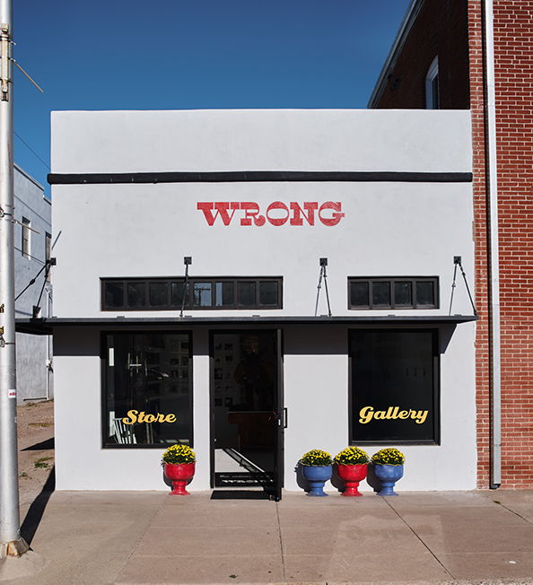 The Wrong Store in Marfa, Texas.
