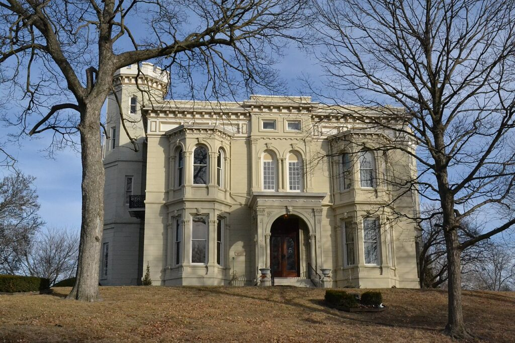 The Wyeth-Tootle Mansion in Saint Joseph.