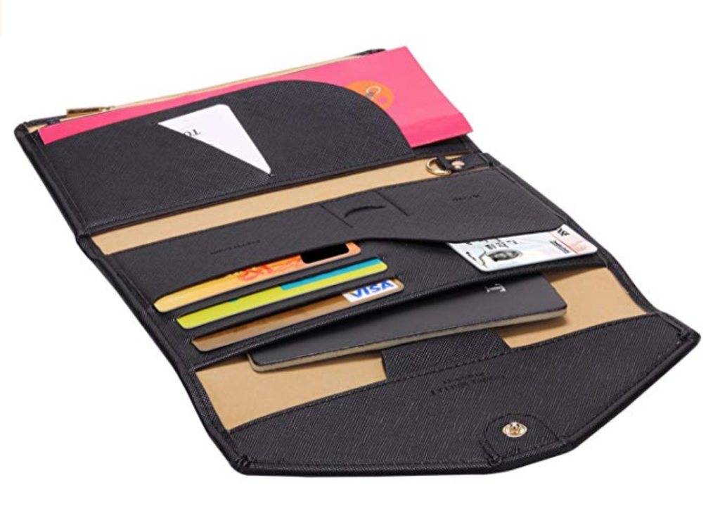 The Zoppen Travel Wallet With RFID.