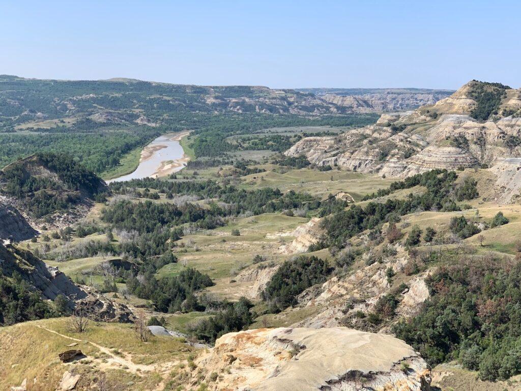 Theodore Roosevelt National Park, North Dakota.