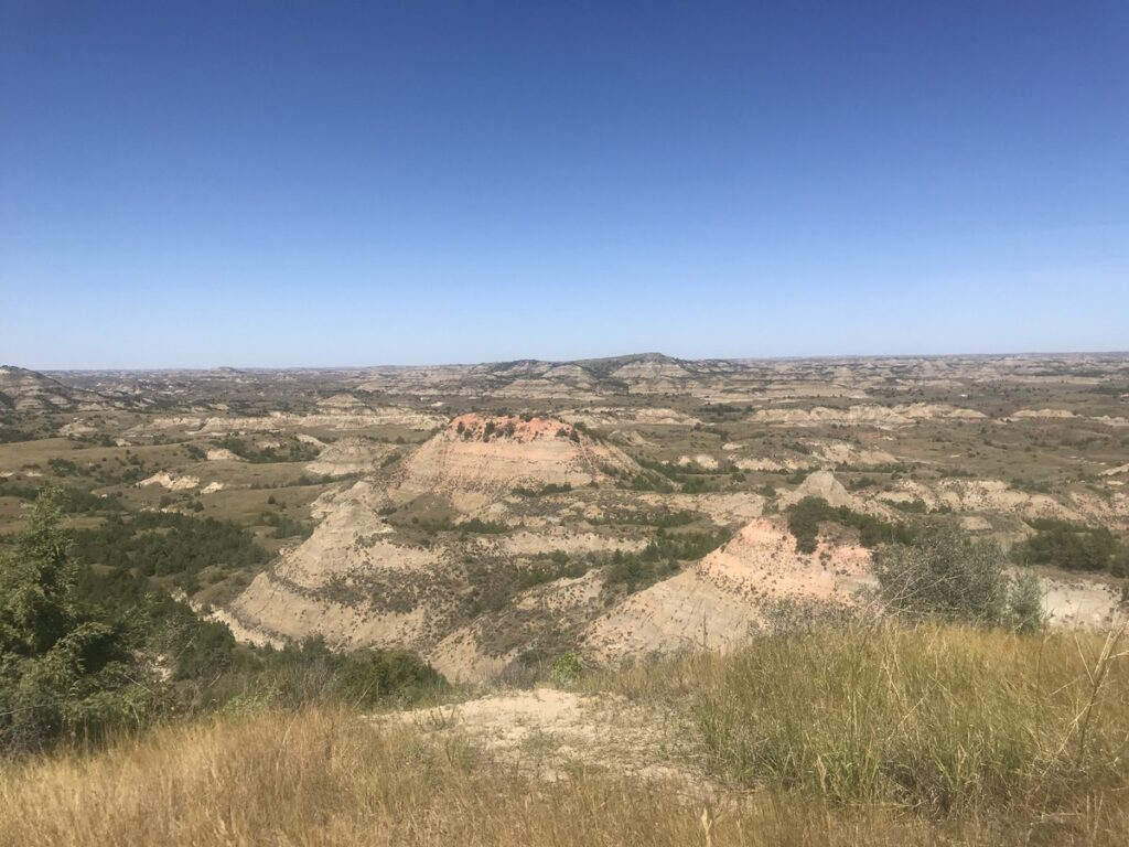 Theodore Roosevelt National Park in North Dakota.