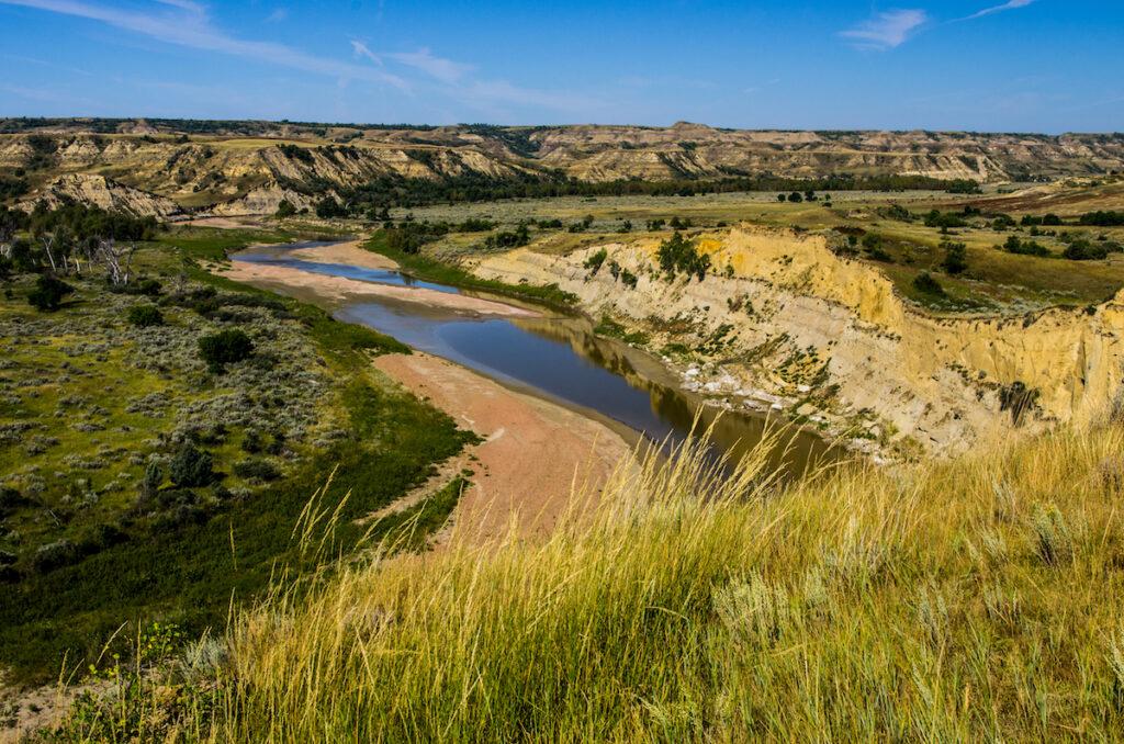 Theodore Roosevelt National Park in North Dakota.