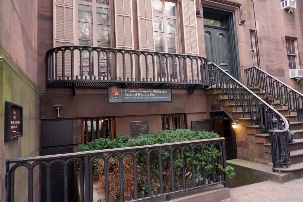 Theodore Roosevelt's Birthplace in New York City.