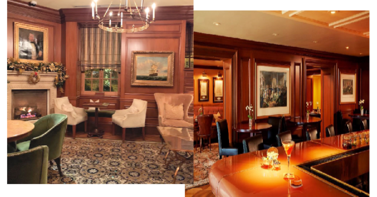 There are many dining options at The Jefferson.