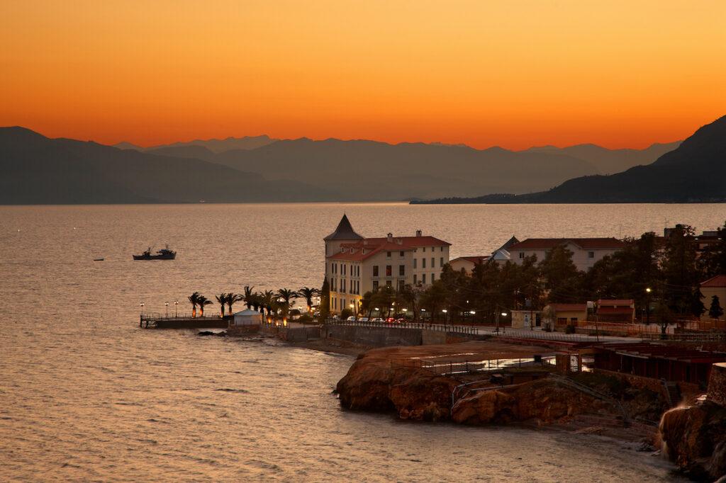 Thermae Sylla Spa, Edipsos, Evia, Greece.