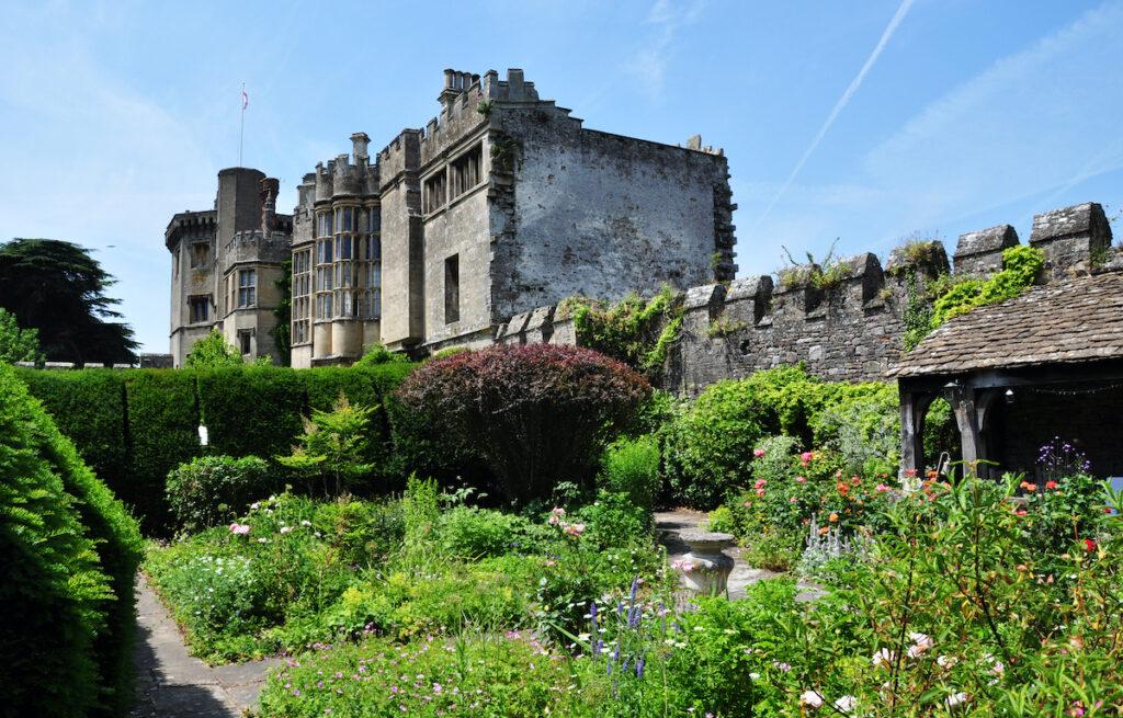 Thornbury Castle in South Gloucestershire, UK.