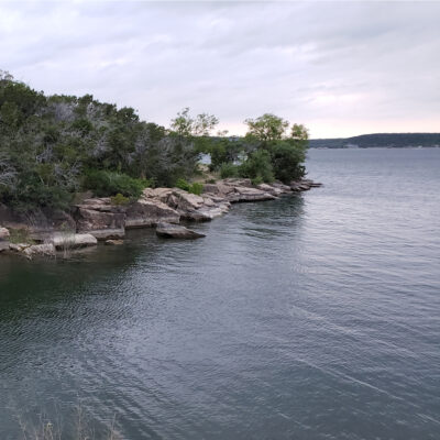 Three of Lake Cove at Possum Kingdom State Park.