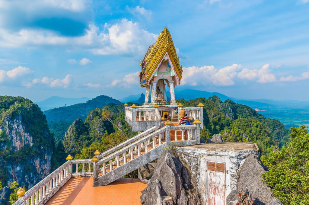 Tiger Cave temple in Thailand.