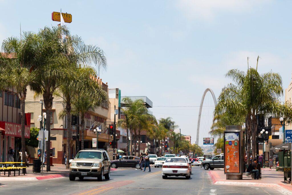 Tijuana in Mexico.