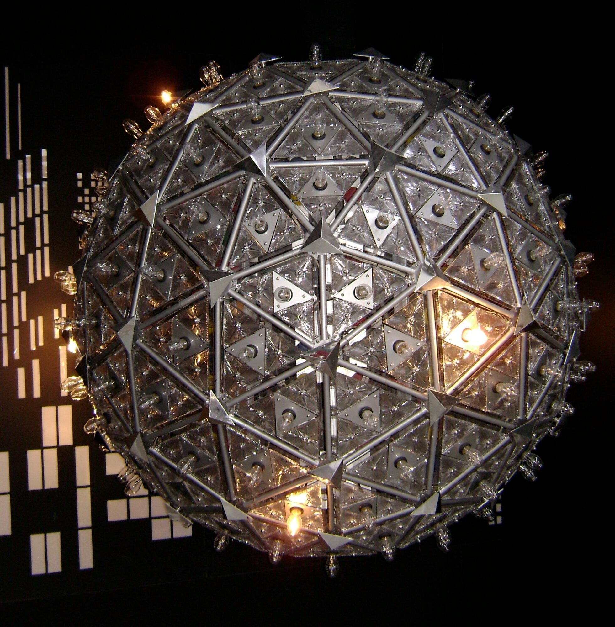 Times Square Ball in New York City.