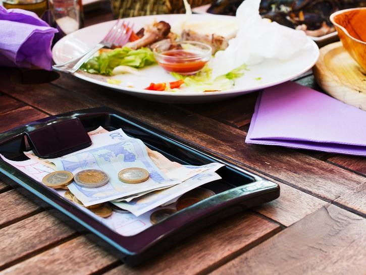 tipping tips for traveling in Europe