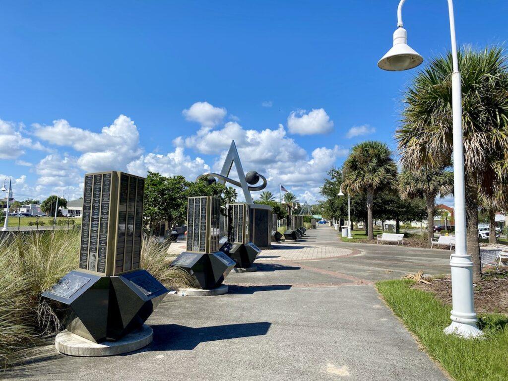 Titusville park in Florida.