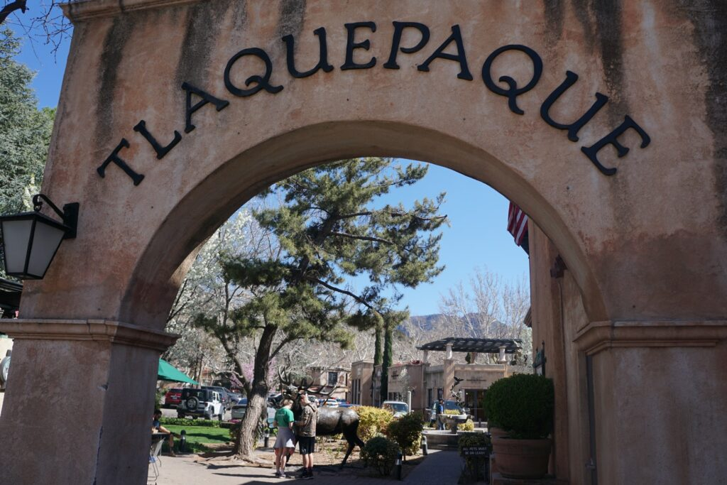 Tlaquepaque Arts and Shopping Village in Sedona.