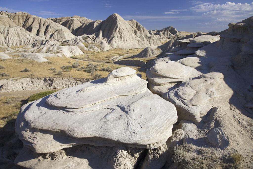 Toadstool Geological Park in Harrison, Nebraska.
