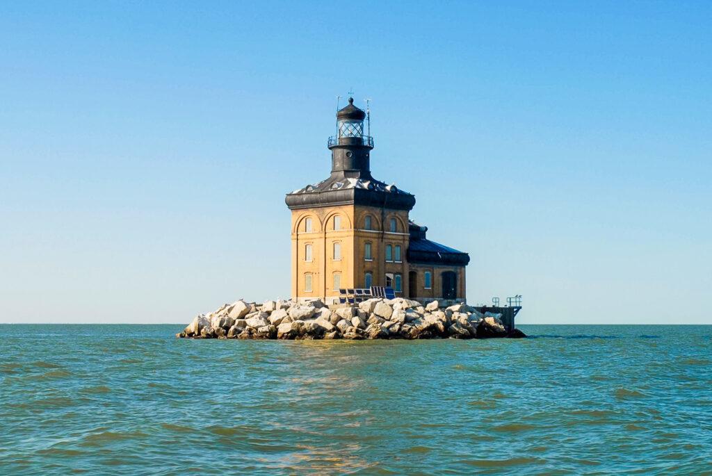 Toledo Harbor Lighthouse in Toledo, Ohio.