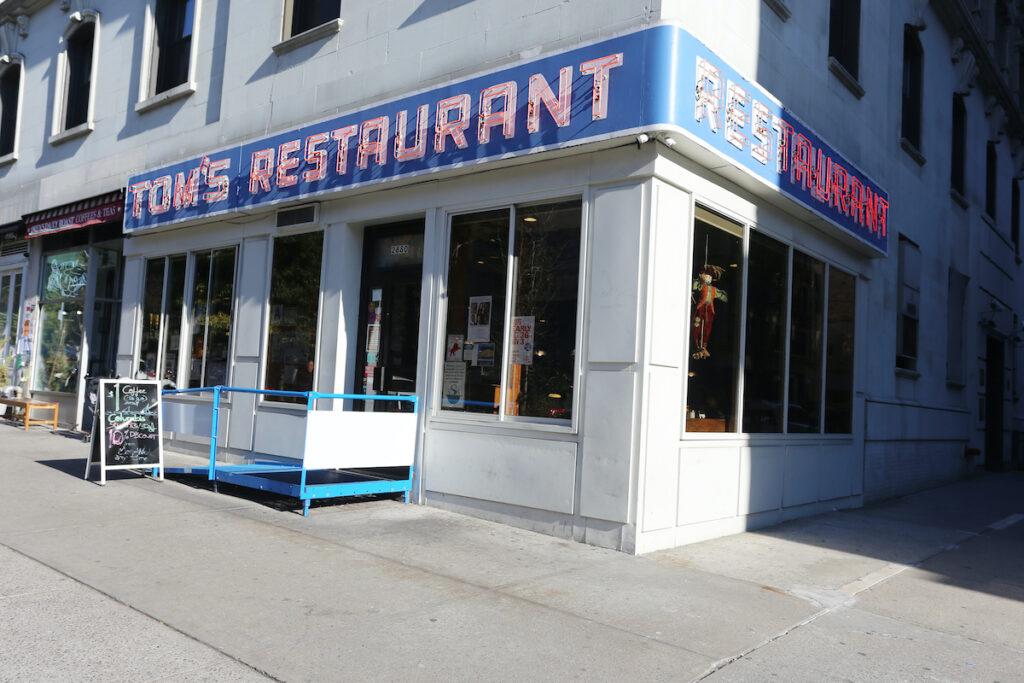 Tom's Restaurant in New York City, as seen on Seinfeld.