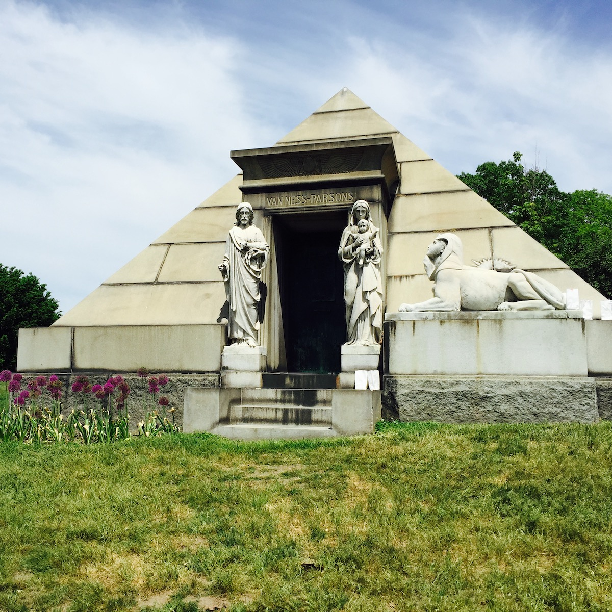 Tomb at Green-Wood Cemetery, Brooklyn.