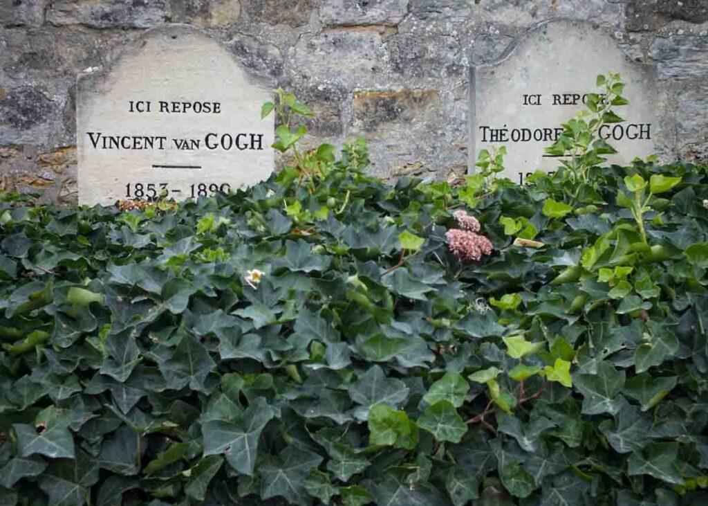 Tombstones of Vincent and Theo Van Gogh.
