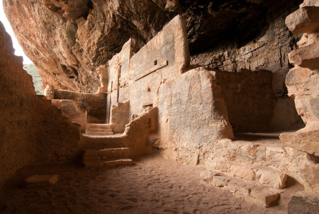 Tonto National Monument in Arizona.