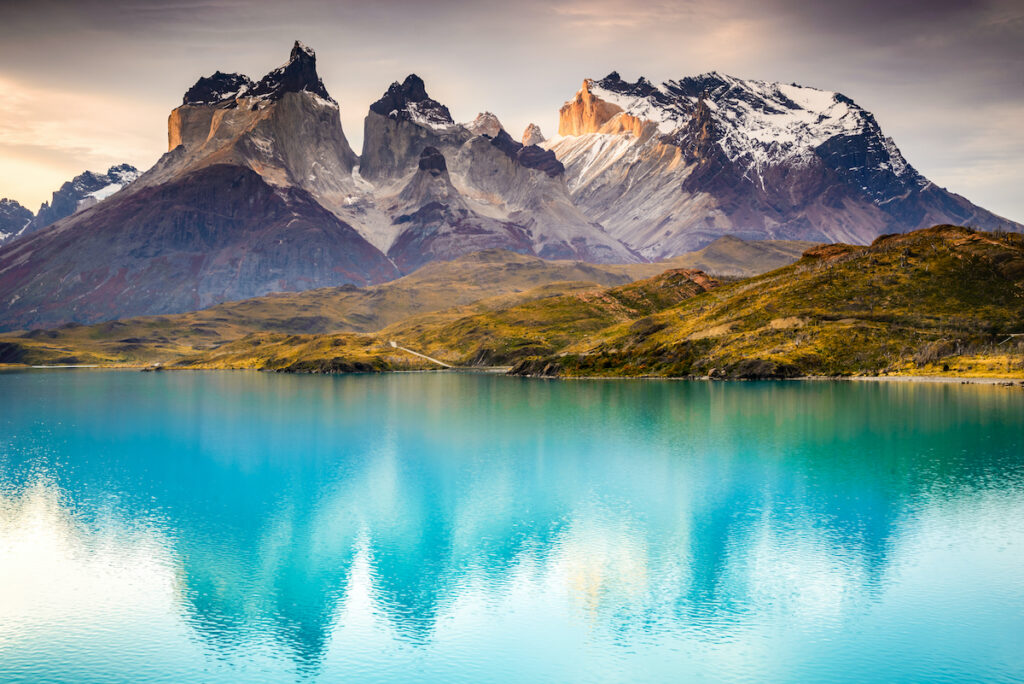 Torres del Paine National Park in Patagonia, Chile.
