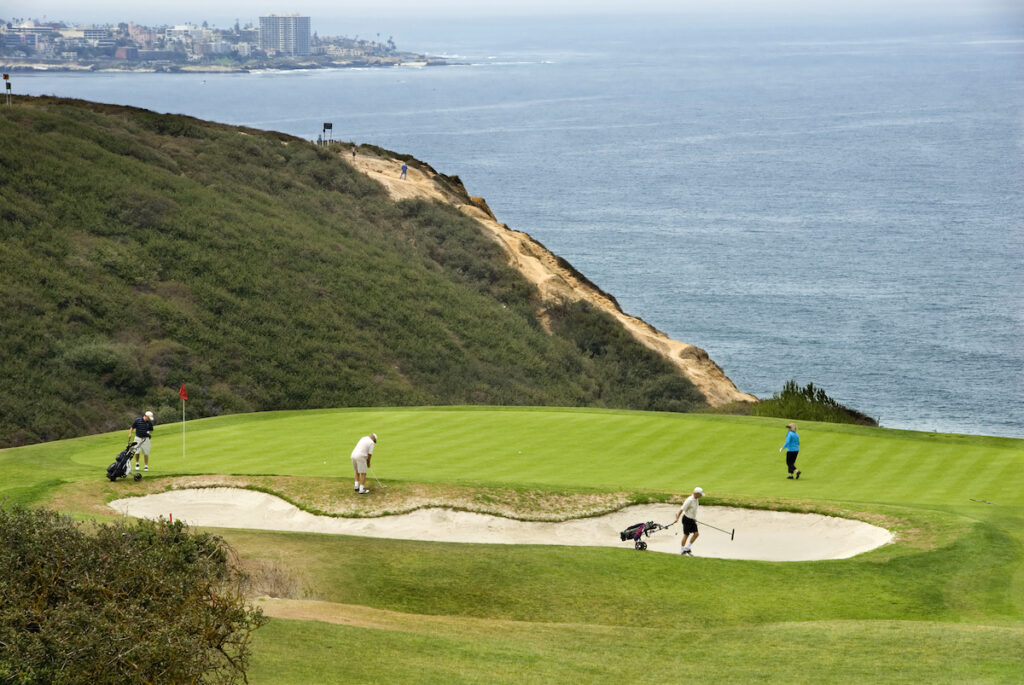 Torrey Pines Golf Course in La Jolla, California.