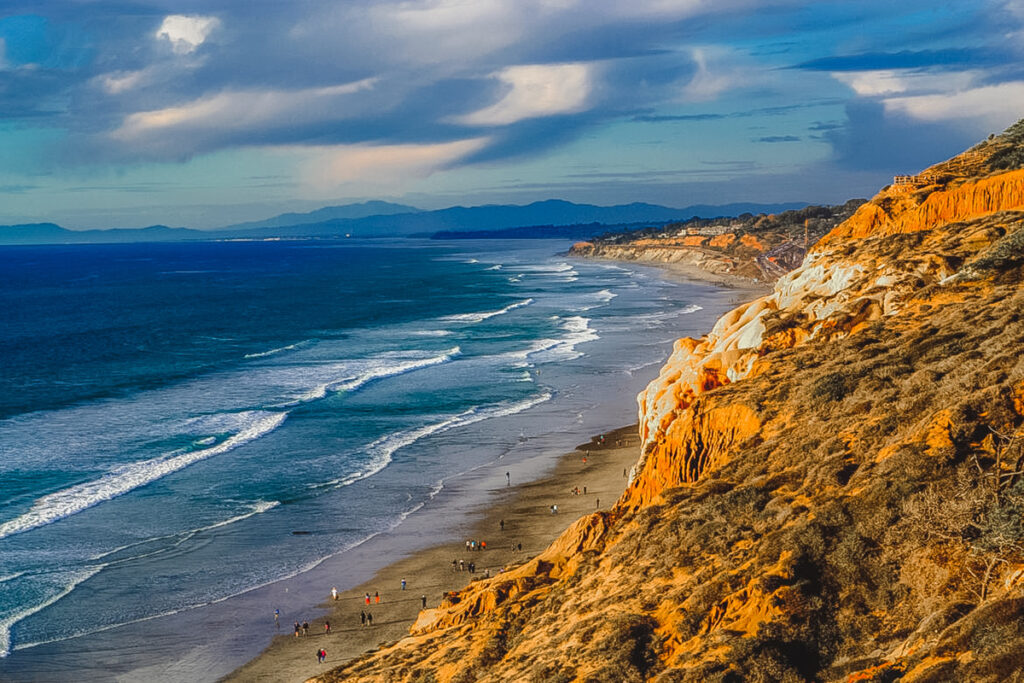 Torrey Pines State Natural Reserve in San Diego, California.