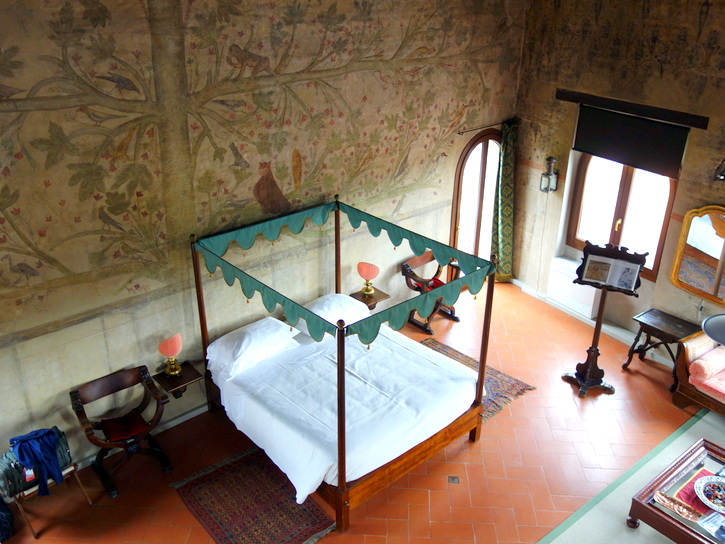 Tower suite of Palazzo Castiglioni in Mantua, Italy.