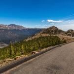 Trail Ridge Road between Grand Lake and Estes Park, Colorado.