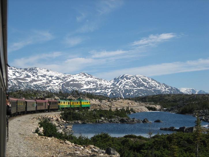 Train on white pass and yukon route