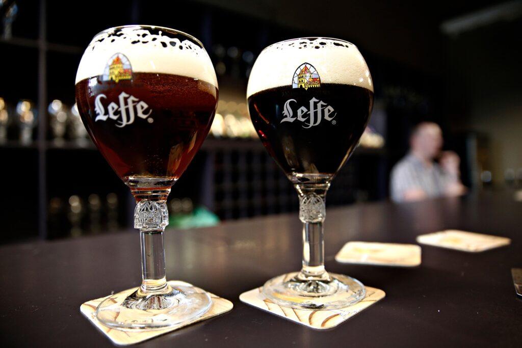 Trappist beer in Belgium.