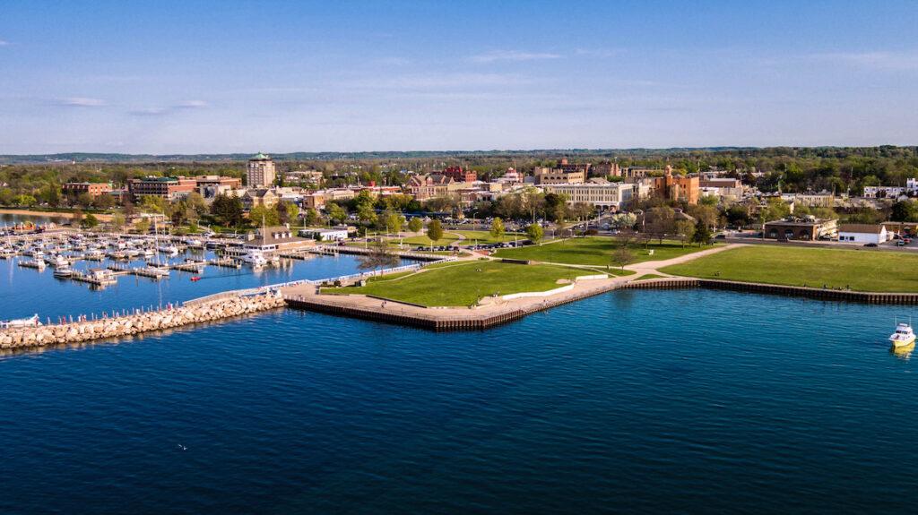 Traverse City in Michigan.