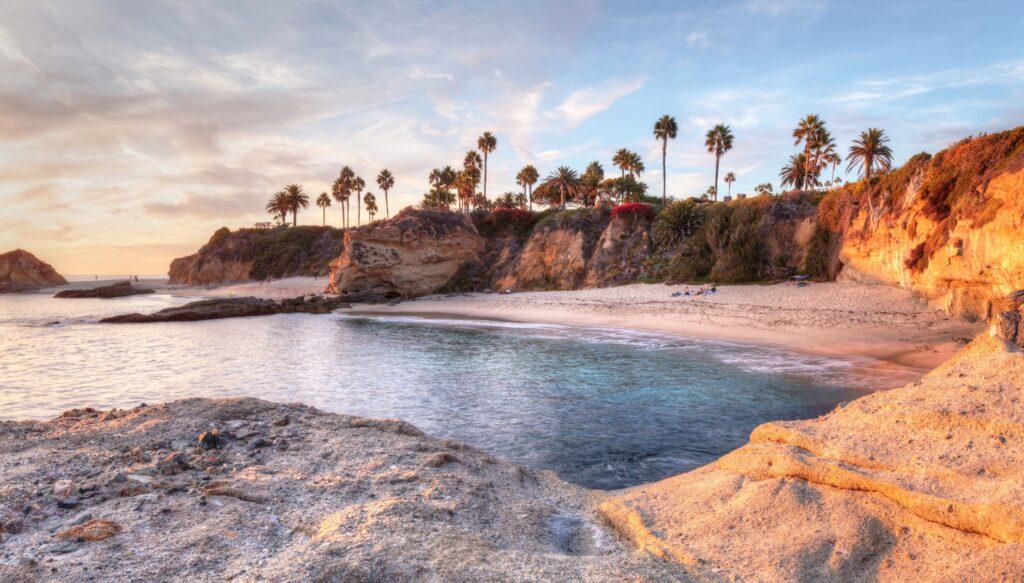 Treasure Island Beach at the Montage in Laguna Beach.
