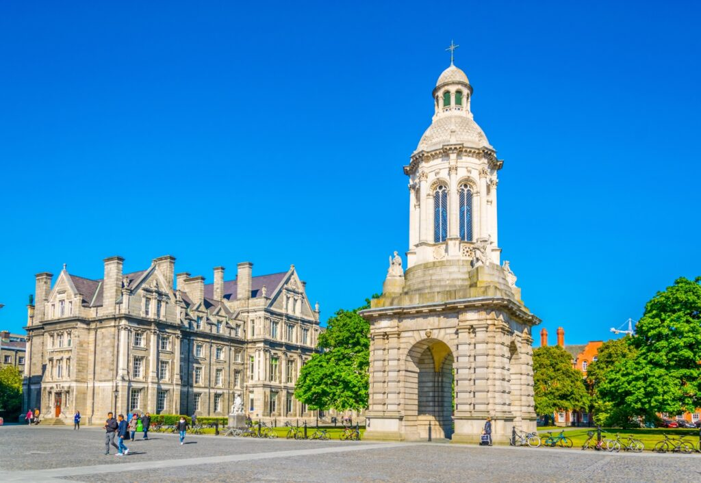 Trinity College Dublin in Ireland.