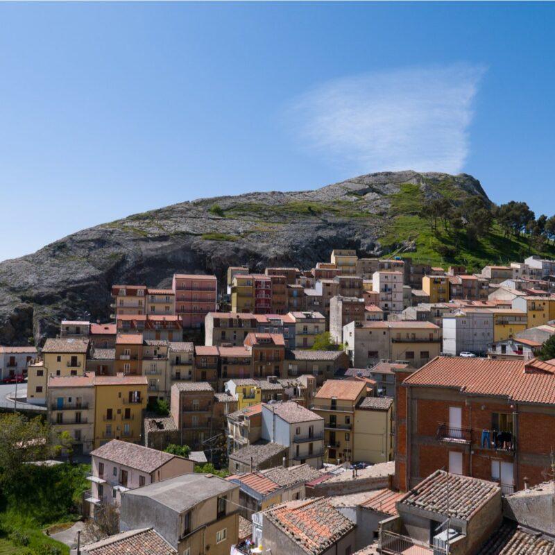 Troina, Sicily, Italy.